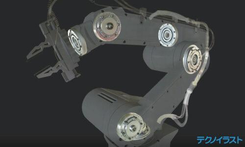 ロボットアームの説明映像